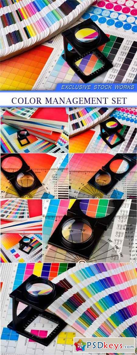 Color management set 7X JPEG
