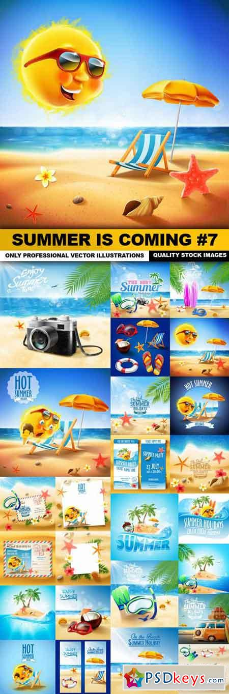 Summer Is Coming #7 - 25 Vector