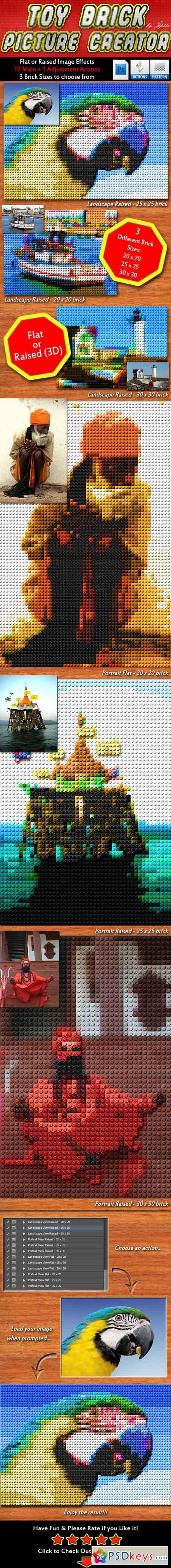 Toy Brick Picture Creator 16258864