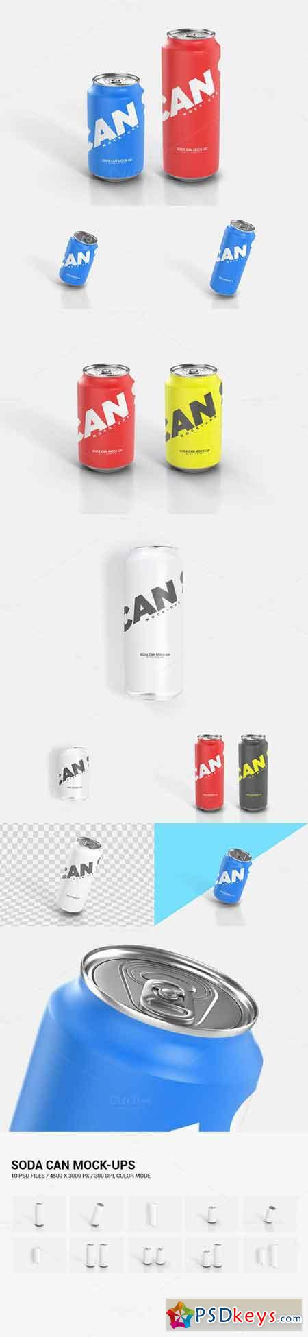 Soda Can Mock-Up 699755