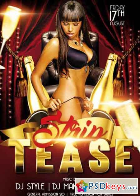 Free strip tease