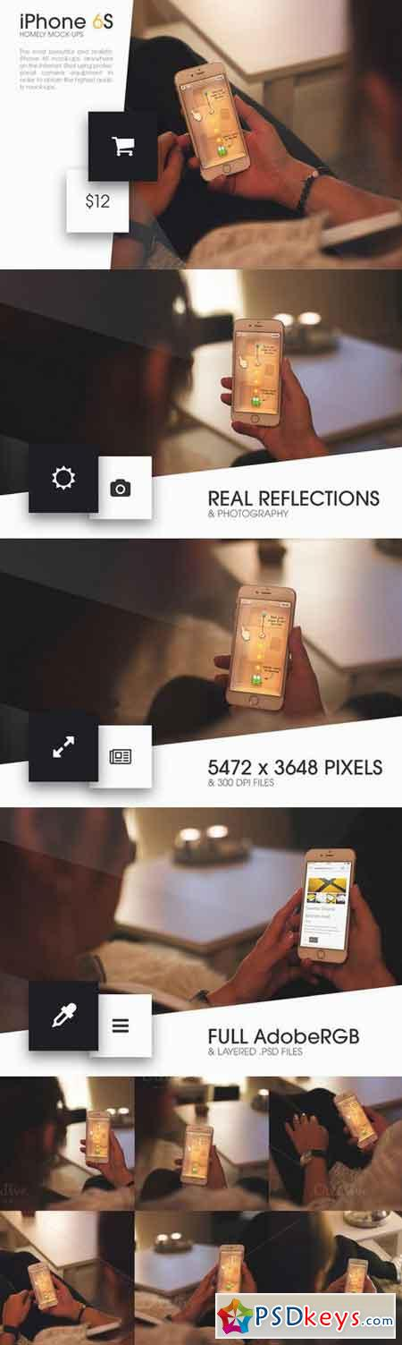 iPhone 6S Homely Mock-Ups 376247