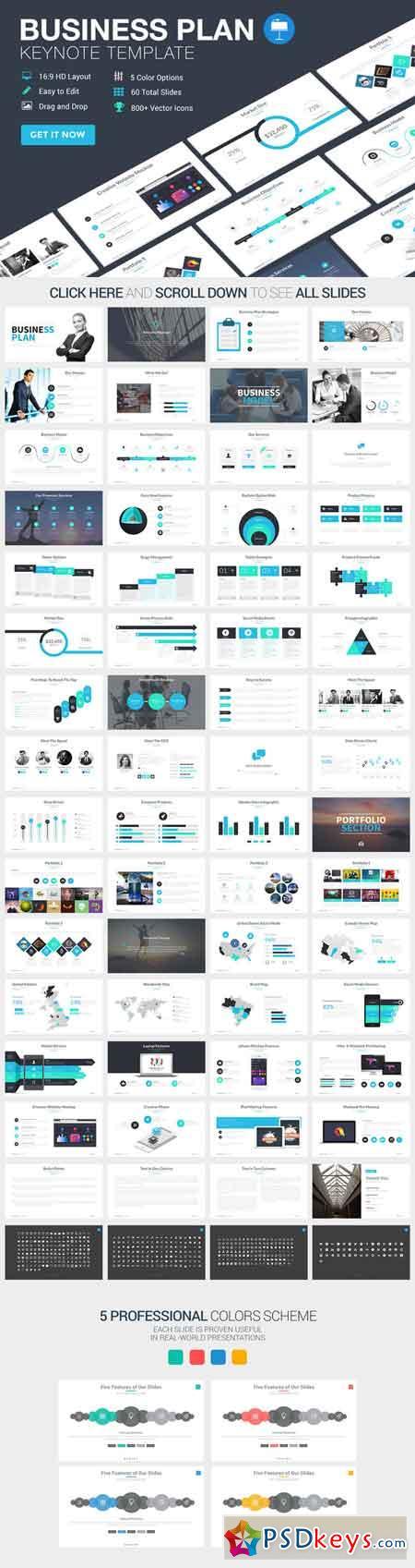 Business Plan Keynote Template 389434 Free Download Photoshop