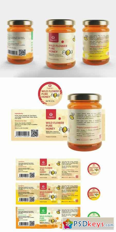 Honey Packaging Design Honey Label 700442