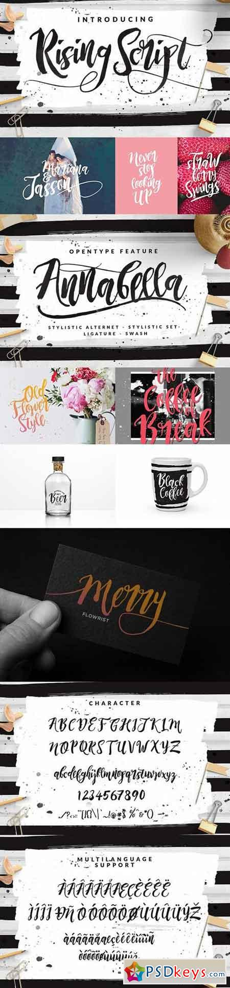 Rising Brush Script 698220