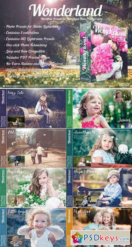 Presets for Lightroom Wonderland 779307