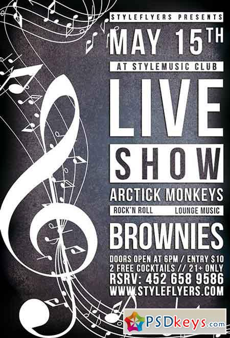 live show flyer mersn proforum co