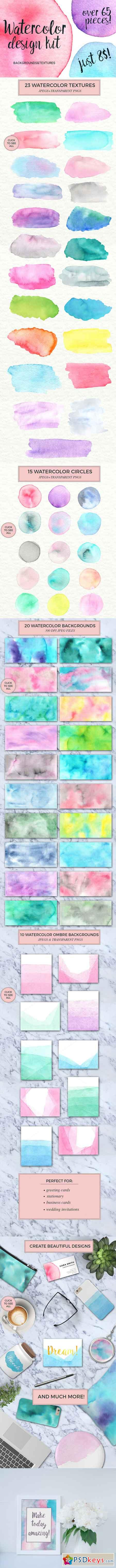 Watercolor design kit 705715
