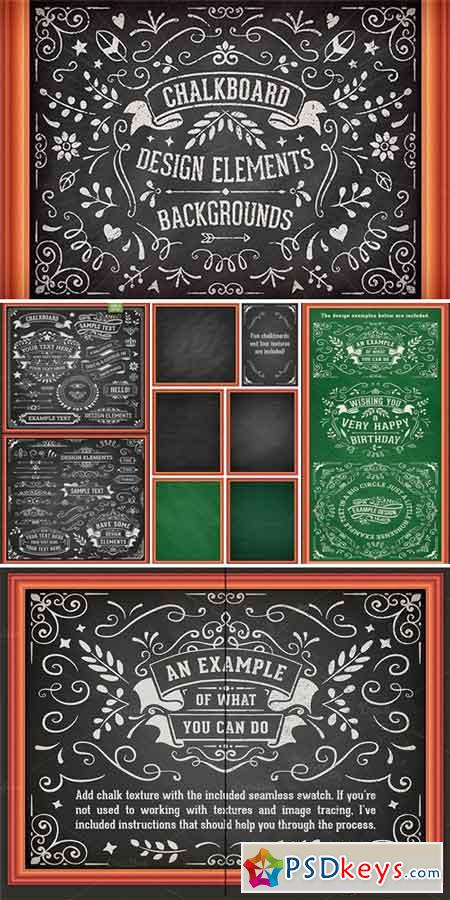 Chalkboard Design Elements 216653