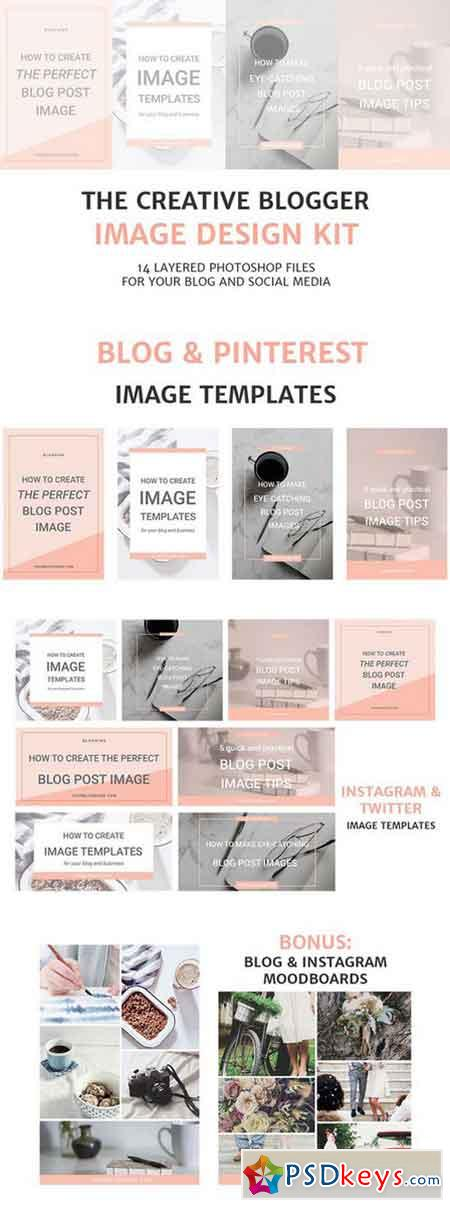 Blog and Social Media Image Kit 645705