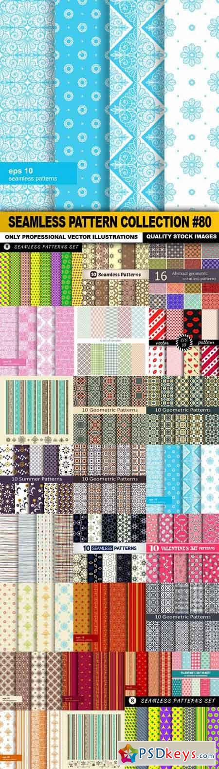 Seamless Pattern Collection #80 - 25 Vector