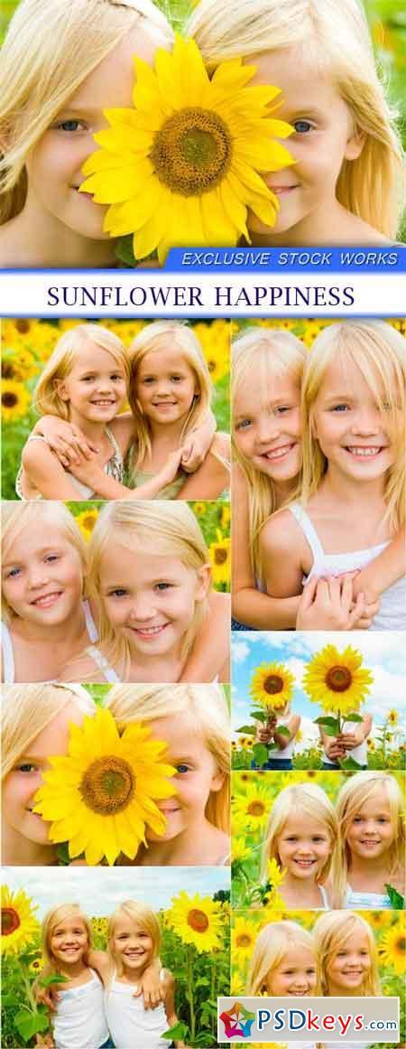Sunflower happiness 8X JPEG