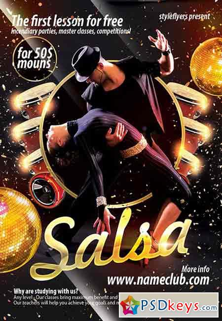 salsa psd flyer template   facebook cover  u00bb free download photoshop vector stock image via