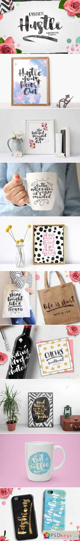 Fashion Hustle Script Fonts 783225