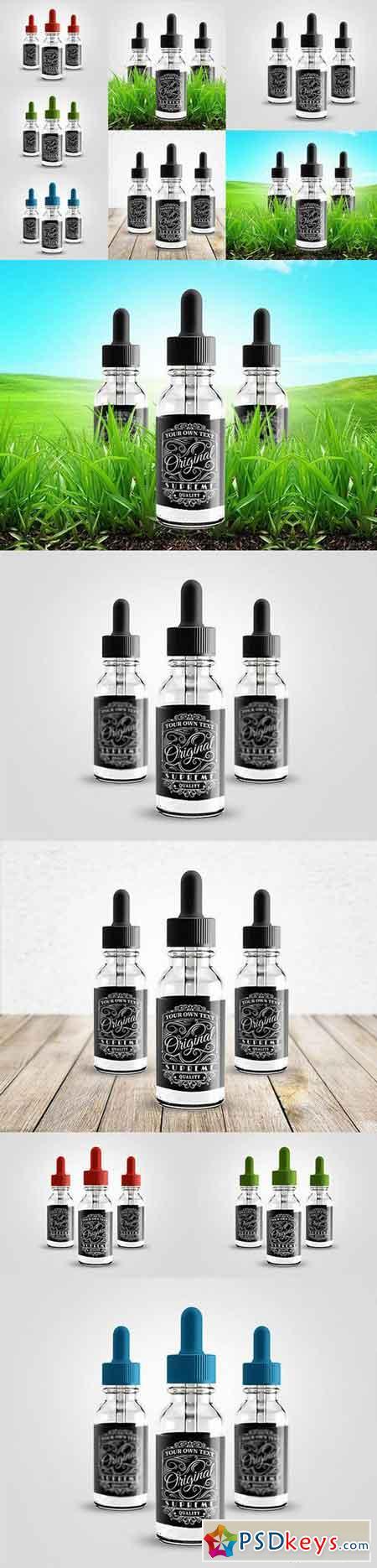 Liquid Bottle Label Mockup 763861
