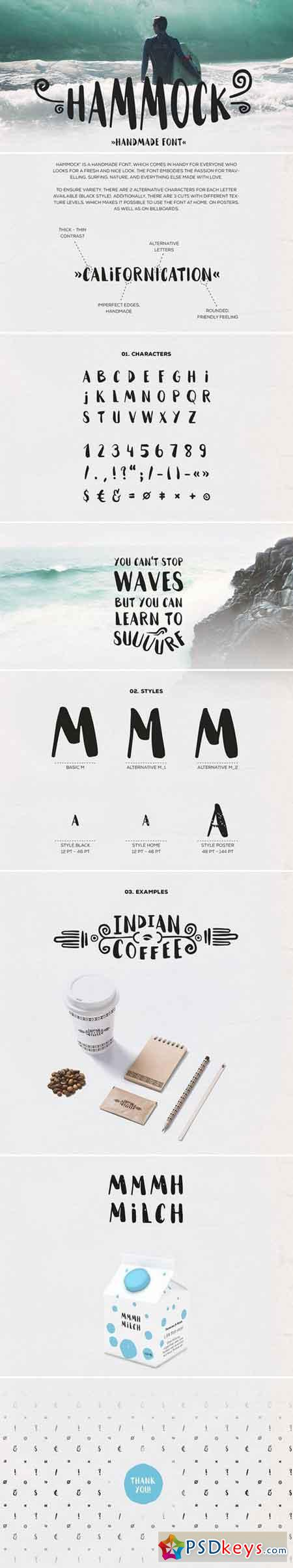 HAMMOCK font