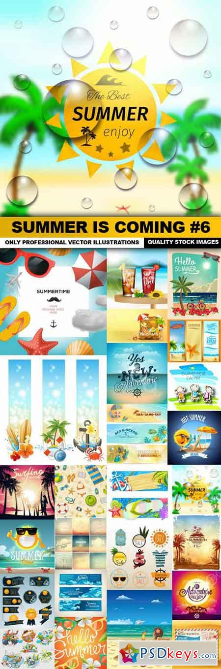 Summer Is Coming #6 - 25 Vector