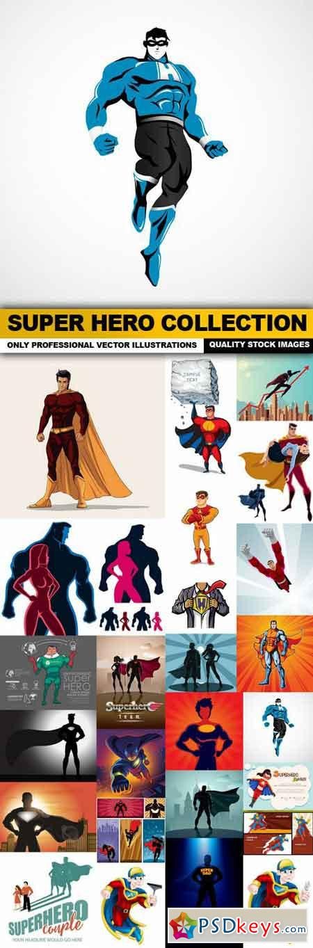 Super Hero Collection - 25 Vector