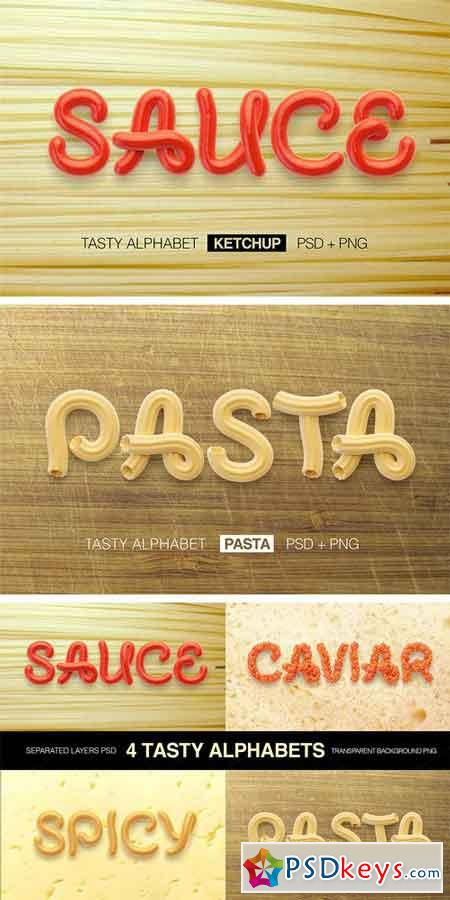 Tasty Letters Font 175623