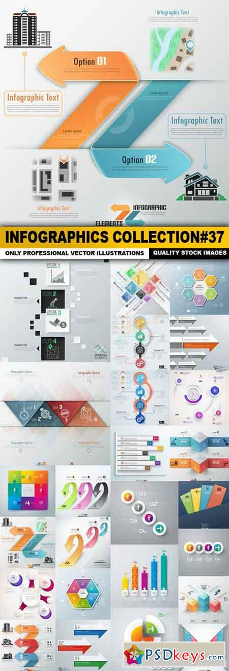 Infographics Collection#37 - 25 Vector
