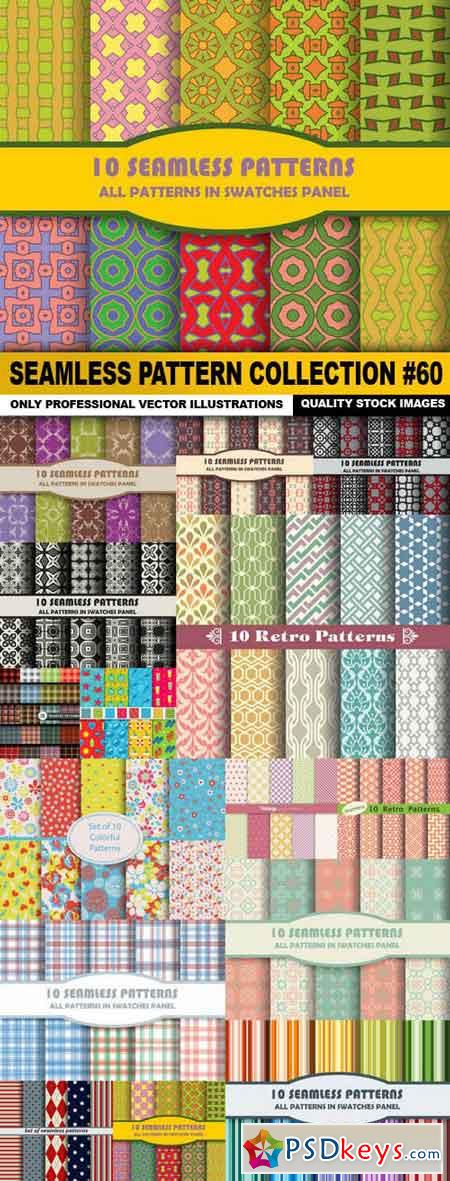 Seamless Pattern Collection #60 - 15 Vector