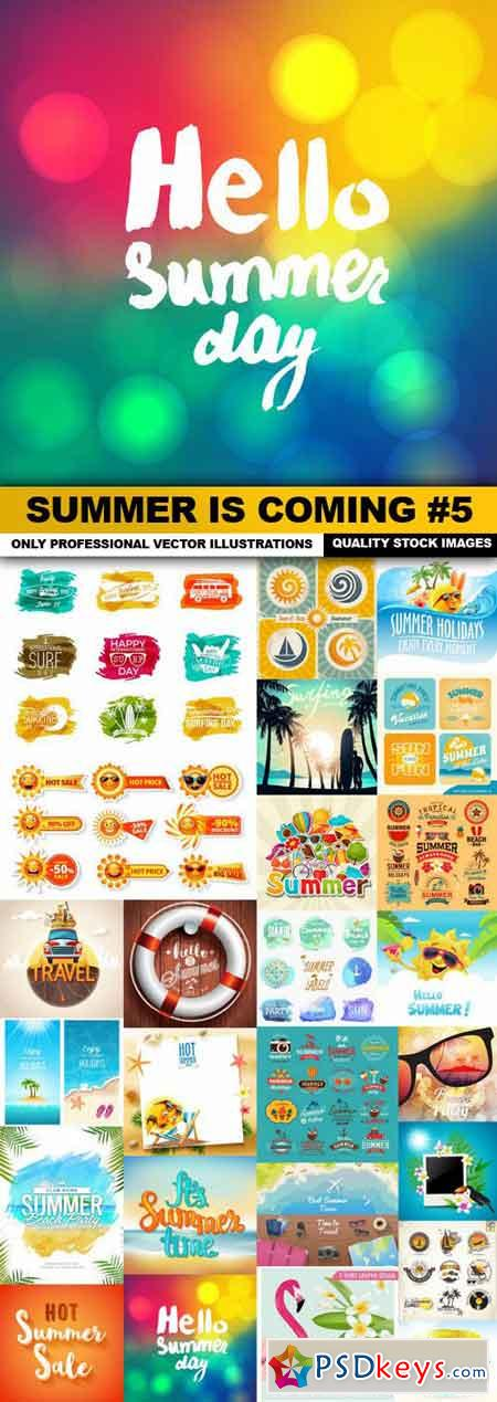 Summer Is Coming #5 - 25 Vector