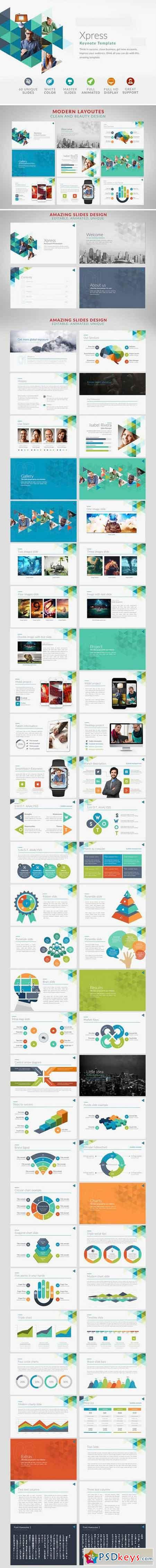 Xpress Keynote Template 788425