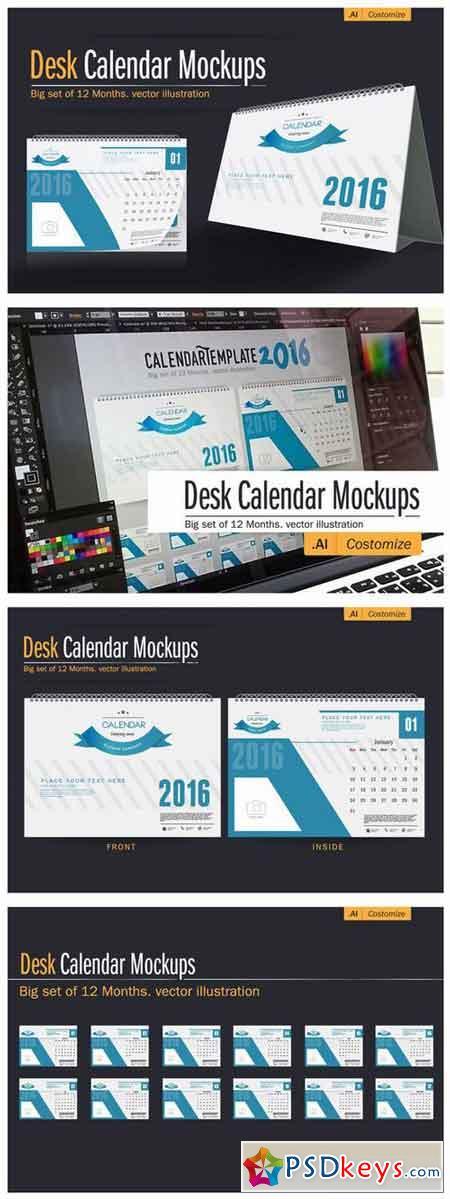 Calendars - Free Download Photoshop Vector Stock image Via Torrent