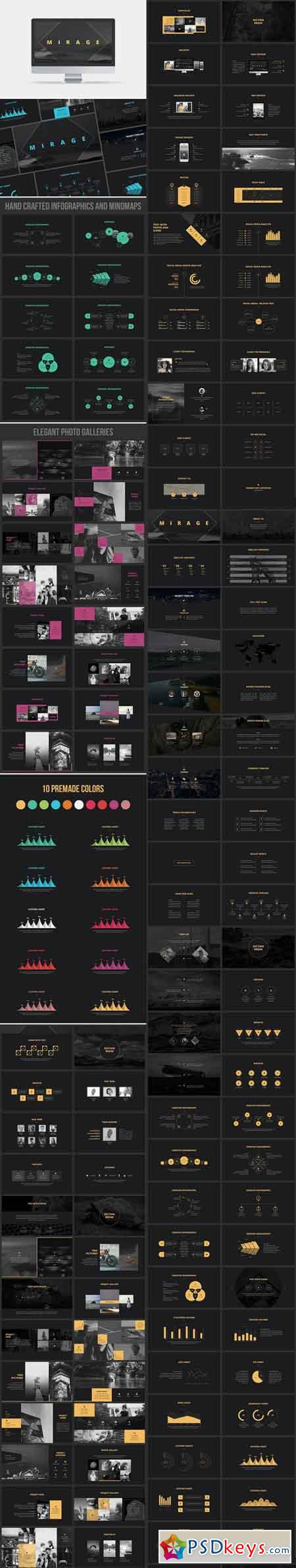 powerpoint templates torrents - mirage powerpoint template 749534 free download