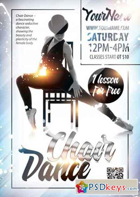 Chair Dance V1 Psd Flyer Template Free Download Photoshop Vector