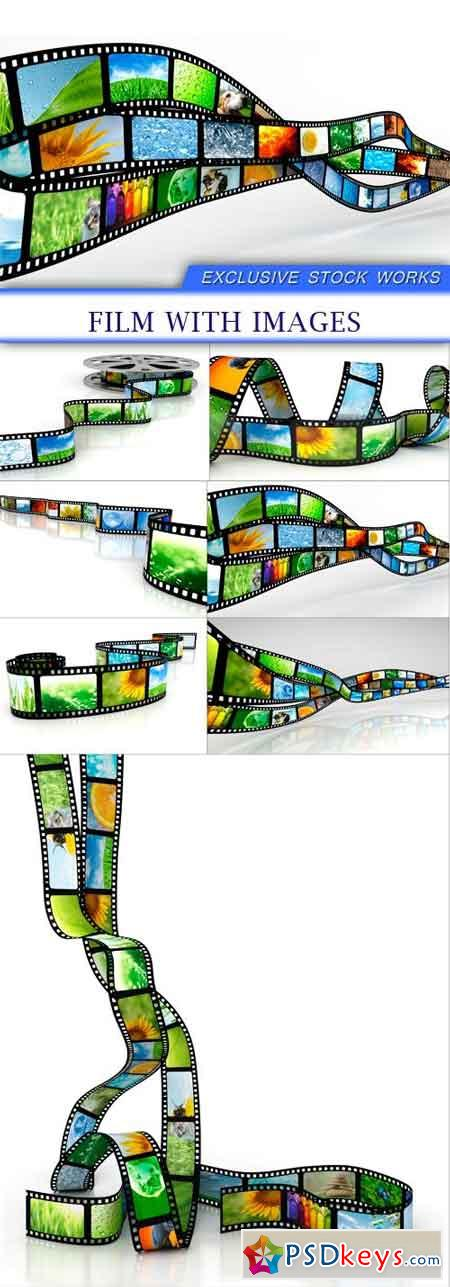 Film with images 7x JPEG
