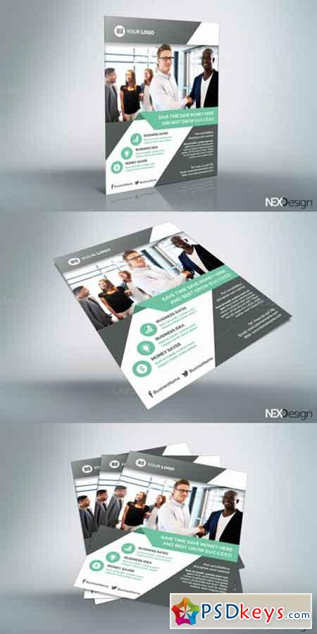 Business Flyer - v020 668827