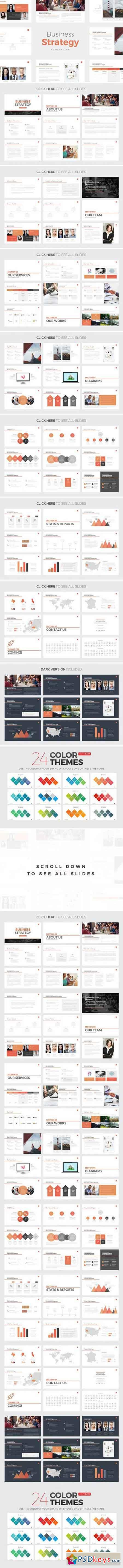 Business Strategy Deck PowerPoint 792481