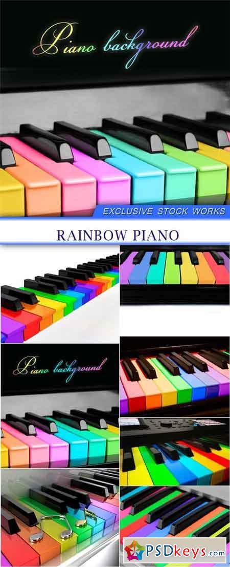 rainbow piano 7X JPEG