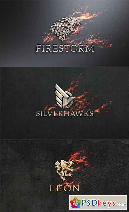 Flame & Metal Fire Logo Reveal 16928053 - After Effects Projects