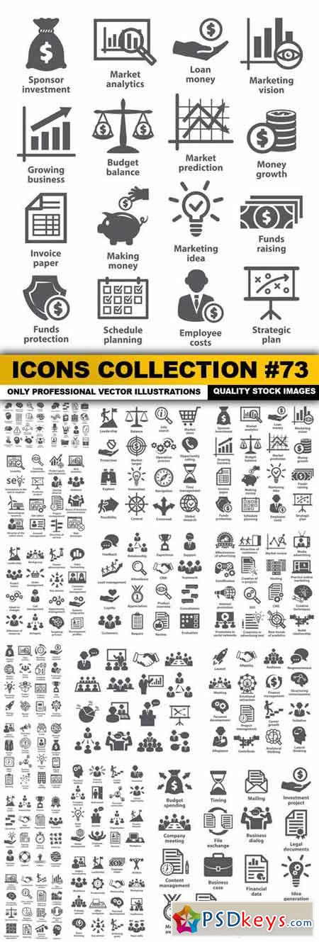 Icons Collection #73 - 17 Vector