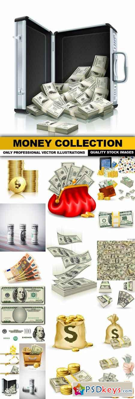 Money Collection - 25 Vector