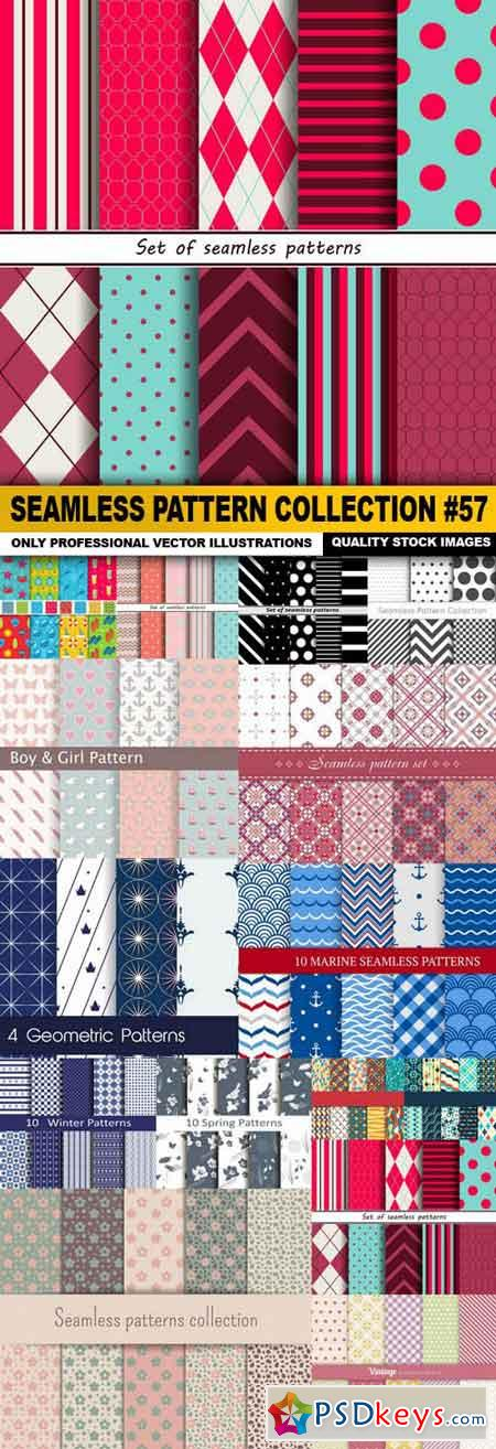Seamless Pattern Collection #57 - 15 Vector