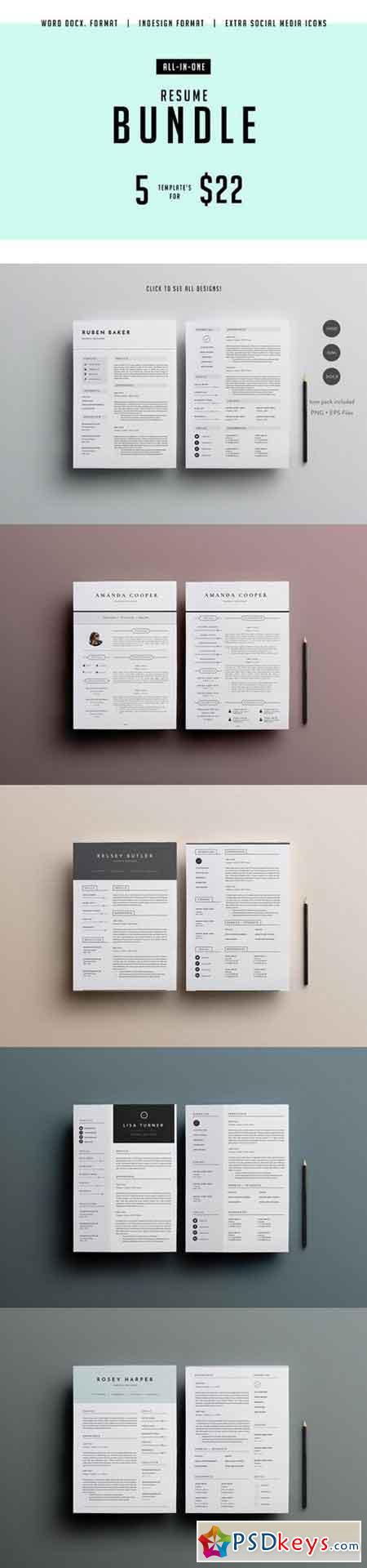 major resume bundle indd   docx 777039  u00bb free download