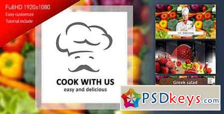 Cook With Us - Cooking TV Show Pack 4125837 - After Effects Projects