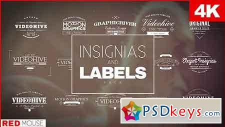 Insignias And Labels Pack 16849918 - After Effects Projects