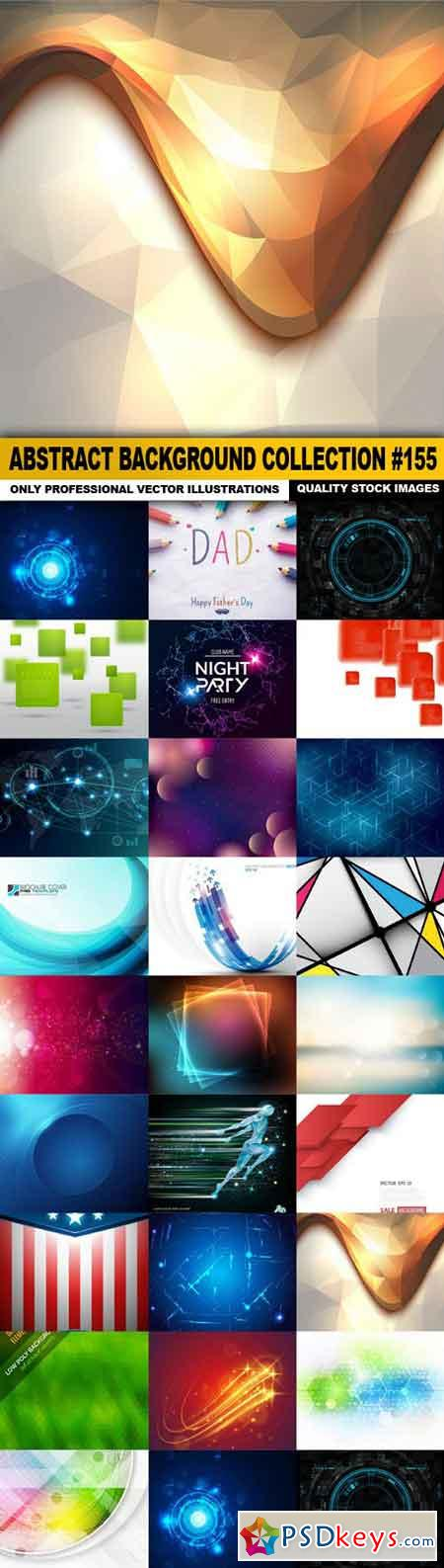Abstract Background Collection #155 - 25 Vector