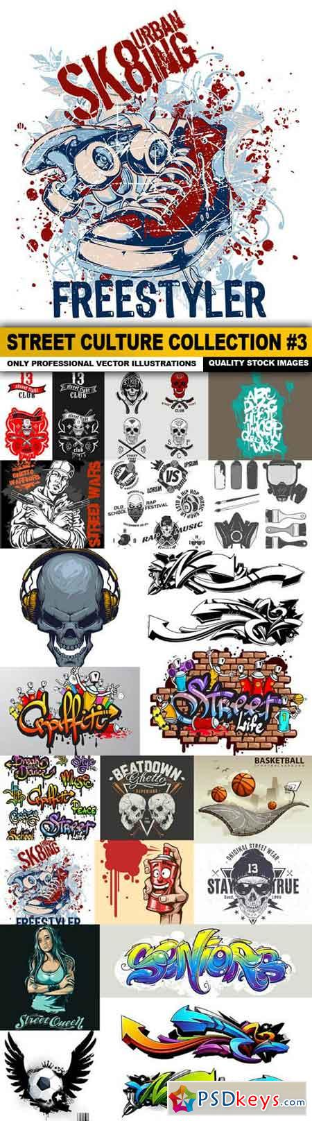 Street Culture Collection #3 - 20 Vector