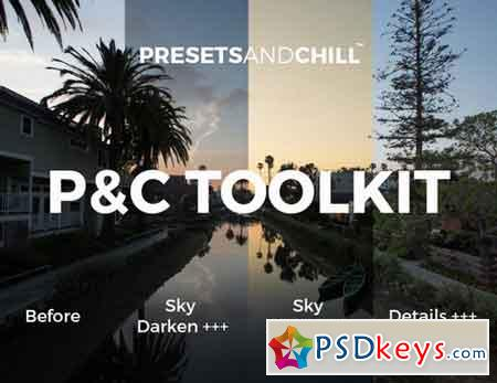 PRESETS AND CHILL TOOLKIT - Adobe LR 816674