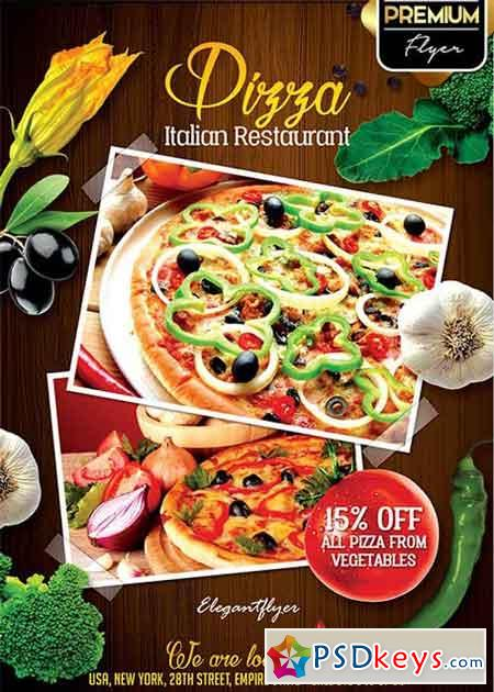Restaurant Flyer V2 Psd Template Facebook Cover Free Download