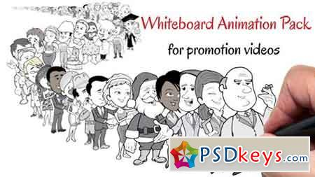Whiteboard Animation Pack For Promotion Videos 8274524 - After Effects Projects