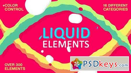 Liquid Elements FX 16708647 - After Effects Projects