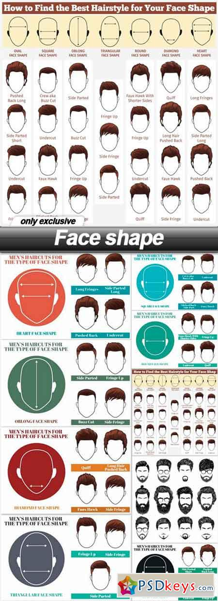 Face shape - 10 EPS