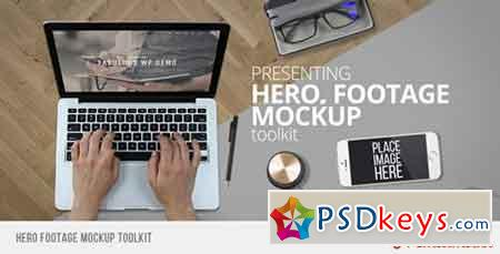 Hero Footage Mockup Toolkit 12371994 - After Effects Projects