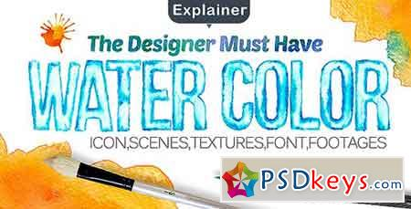 Water Color Pack 14499982 - After Effects Projects